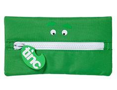 """Pencil Case giant zip """"SMILE"""" www.tinc.net.au"""