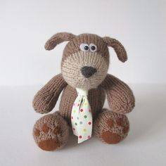 Ravelry: Mortimer Puppy pattern by Amanda Berry