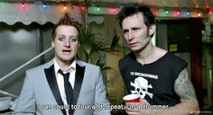 Mike Dirnt & Tre Cool