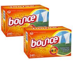 En Target puedes conseguir los Bounce Sheets de 240 ct a $9.99 regularmente. Compra (2) y utiliza (2) cupones de $1.00/1 más recibes $5 en ...
