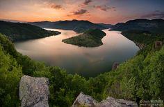 Bulgaria, lake Kardzhali