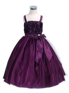 Pretty Flower girl dress and Beautiful color!!