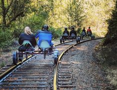 Spend the day pedaling through massive redwoods on this unique rail bikes adventure. It's an outing you certainly won't forget! Spend the day pedaling through massive redwoods on this unique rail bikes adventure. It's an outing you certainly won't forget! Vacation Places, Vacation Trips, Dream Vacations, Vacation Spots, Places To Travel, Travel Destinations, Travel Diys, Hiking Places, Greece Vacation