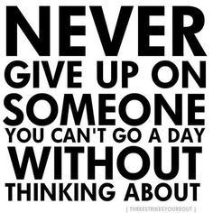 easier said than done... If only if only