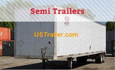 US Trailer is one of the largest trailer leasing and rental companies in the Missouri area, specializing in over-the-road Dry Vans, Flatbeds & Reefers Trailers For Sale, Trailer Sales, Ferrari Mondial, Flatbed Trailer, Semi Trailer, Missouri, Kansas City, Tractors, Van