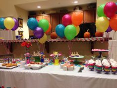 2 Year Old Birthday Party Idea