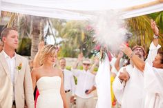 ...another beautiful Akumal wedding.