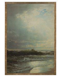 John Richard On the Shore.