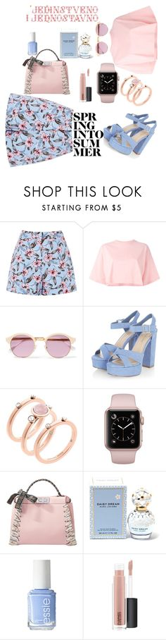 """""""Simple and unique"""" by hanija21 ❤ liked on Polyvore featuring Puma, Sheriff&Cherry, Michael Kors, Fendi, Marc Jacobs, Essie and MAC Cosmetics"""