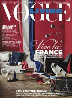 Vogue Living | Vogue Living is a magazine filled with worldwide influences that inspire our lives, be it cultural trends, arts, and architecture, a new secret find around the corner, a far-flung destination, or a privileged glimpse into a private and compelling world. Interiors, spaces, and places to inspire us! ➤ To see more ideas visit Sideboards and Buffets Blog and subscribe our newsletter! #homedecorideas #interiordesign #decorideas #designtrends #interiordesignmagazines…