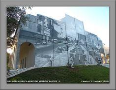 Santa Maria/RS: BIBLIOTECA PÚBLICA MUNICIPAL HENRIQUE BASTIDE