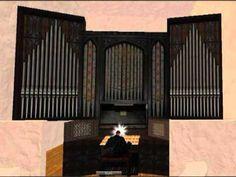 ▶ Danish church in Second Life - YouTube