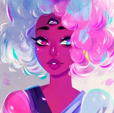 Beach City Bugle: Drawing Things Out #200: Blue Diamond's Pearl is Really Popular