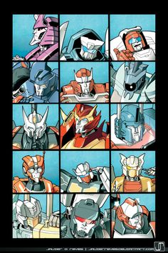 The MTMTE Bunch by JavierReyes.deviantart.com on @deviantART