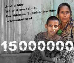 15.000.000 disables ones needs our help in Bangladesh. Just to like is a good start. Please spread this pin around the world, pin on your Facebook page, tweet and retweet.