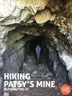 Patsy's Mine | Adventurin' | Farmington | The Salt Project | Things to do in Utah with kids  0.7 MILES ROUND TRIP.  FARMINGTON