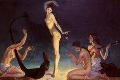 George Owen Wynne Apperley - 'A Dancer of Ancient Egypt'