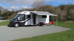 Luxury motorhome for hire