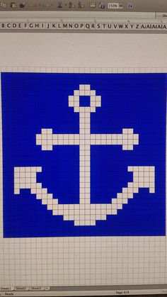Jessame Bakes: Nautical Afghan February 2014