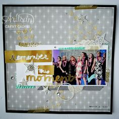 Artisan Wednesday Wow: Remember the Moment by Cathy Caines