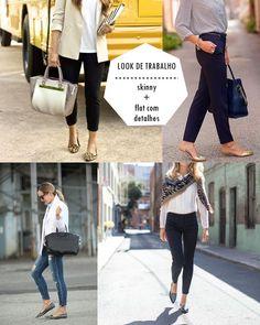 Dicas de Looks de Trabalho SEM SALTO e estilosos | Como Usar e Onde Comprar