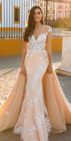 Featured Dress: Crystal Design; Wedding dress idea.