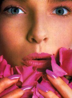Avon, Glamour magazine, March 1985.