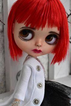 OOAK Blythe Panenka Coralie Custom art blythe doll by