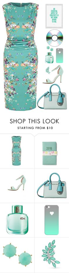 """Don't be Afraid"" by molly2222 ❤ liked on Polyvore featuring Uttam Boutique, AX Paris, MICHAEL Michael Kors, Lacoste, Casetify, Panacea and Bling Jewelry"