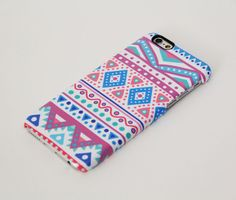 Pastel Aztec Ethnic iPhone Plus 5 SE Protective Tough Case Make A Phone Case, Girly Phone Cases, Iphone 4 Cases, Mobiles, Iphone 6 Plus Case, Apps, Coque Iphone, Mobile Cases, 6 Case