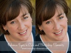 Six simple steps for enhancing the eyes in Photoshop CS and PSE via @amandapadgett