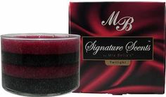 Signature Scents 20 oz. layered coffee table 3 wicked jars