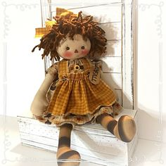 Gingerbread Crafts, Fall Sewing, Puppet Making, Raggedy Ann And Andy, Clipboard, Doll Crafts, Cute Dolls, Fabric Dolls, Doll Patterns