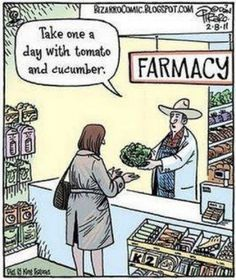 A laugh for my fellow vegans :) Greens.  The miracle food.  Could it be the reason I haven't been on antibiotics for 7 yrs?
