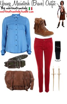 """""""Young Macintosh (Brave) Outfit:"""" by martinafromitaly ❤ liked on Polyvore"""