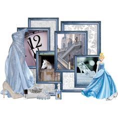 """Cinderella"" formal gown by srta-sr on Polyvore"
