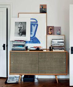 Creative Spaces by Geraldine James via lookslikewhite Blog