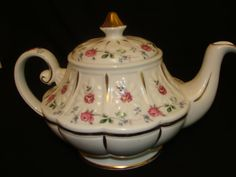 Ellgreave Teapot for Wood and Sons of England by catherinefarrens, $24.99