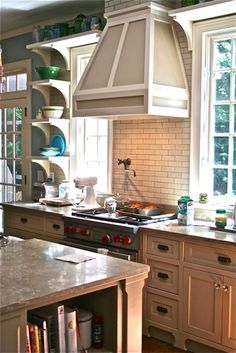 Kitchen Open Shelving Design, Pictures, Remodel, Decor and Ideas - page 20