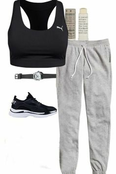 Cute Workout Outfits, Cute Lazy Outfits, Sporty Outfits, Teen Fashion Outfits, Athletic Outfits, Trendy Outfits, Fashion Women, High Fashion, Dance Outfits