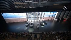 At the IAA, Mercedes-Benz traditionally presents its entire portfolio on a gigantic stage in the Festhalle in Frankfurt.  Together with Atelier Markgraph, we were responsible for a 40-minute live show.  This included the concept, the art direction, and the production of all media, including the soundtrack and the sound design.  The show fused together elements like moving cars, film, live camera, augmented reality, live music and moderation into a combined choreography – all in real ti...