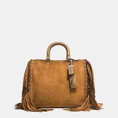 Shop The COACH Rogue In Cervo Suede With Fringe. Enjoy Complimentary Shipping & Returns! Find Designer Bags, Wallets, Shoes & More At COACH.com!