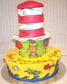 Seuss Cake Design