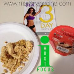The 21 Day Fix, 3 Day Quick Fix
