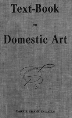 Text Book On Domestic Art