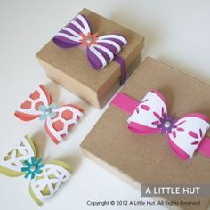 paper bows.