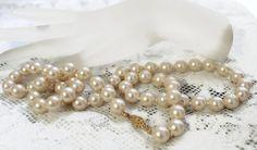 Culture naturelle perle Handspun collier par TreasuresFromUs