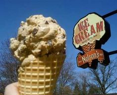 Nelson's Ice Cream has the best ice cream anywhere. No question. Stillwater, Minnesota