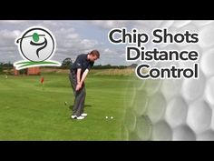 Once you're happy with your set up and basic chipping technique, we can look at how you can achieve good distance control… Chipping and putting distance control is very much about 'feel' but a high level of feel can take hours and hours of practice to develop. One way you can significantly shorten the learning curve is to take a more structured approach to your chipping technique.