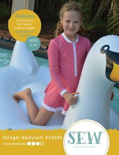 This item is unavailable Little Swimmers, Full Body Suit, One Piece Swim, Pdf Patterns, Complete Outfits, Swimsuits, Swimwear, Petite Fashion, Cover Photos